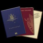 Visum och pass