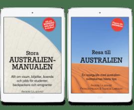 Stora Australienmanualen & Resa till Australien