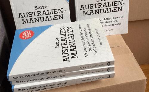 Stora Australienmanualen Paperback